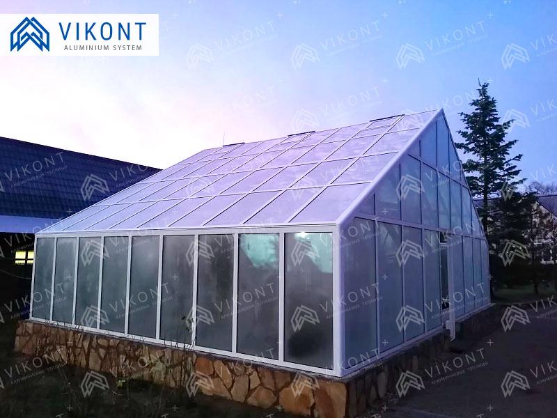 Теплицы из стекла и алюминия в Рязани